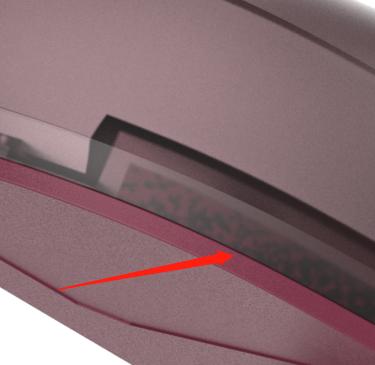 磨砂透明材质内部会出现黑色斑点是什么情况呢?