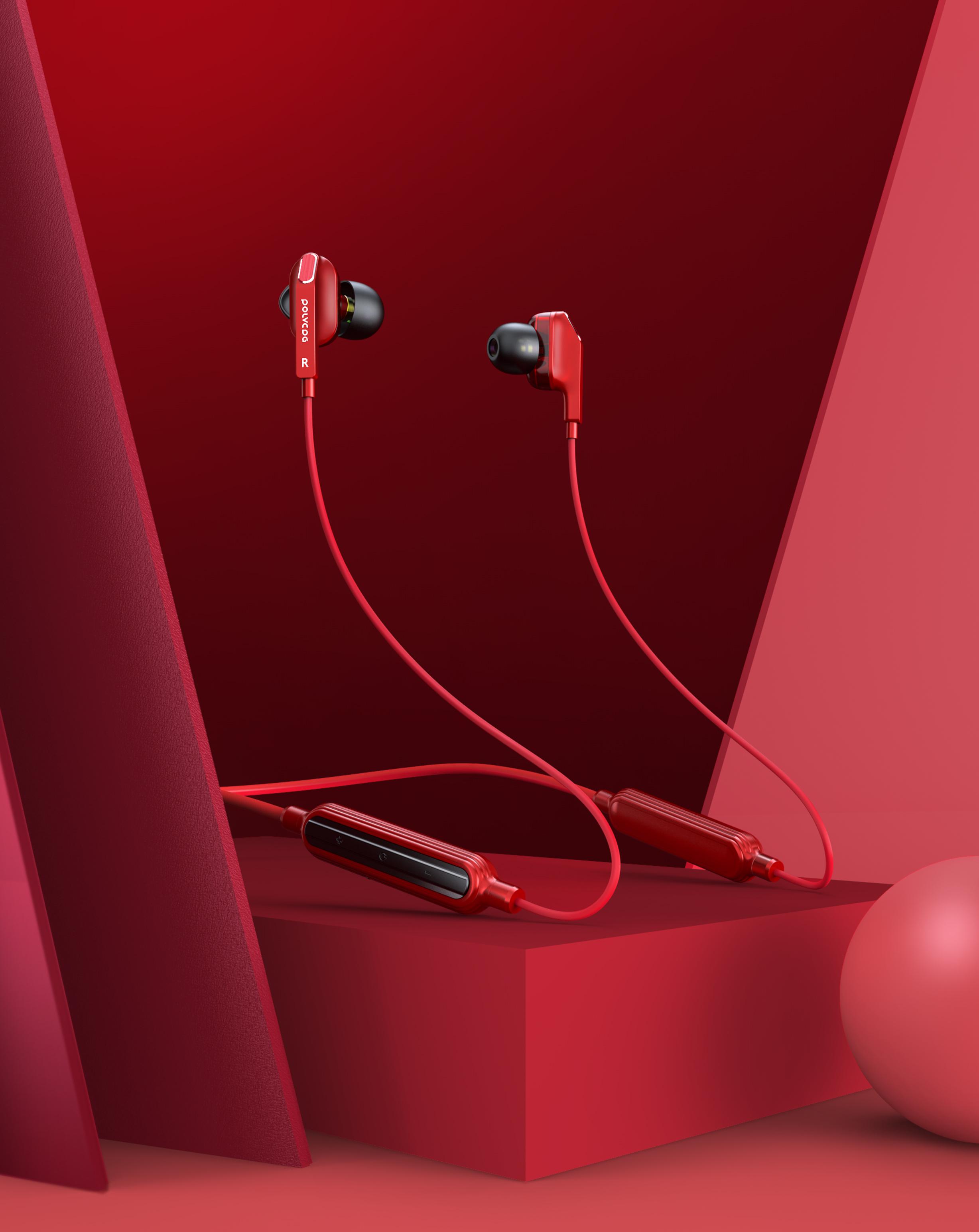 蓝牙耳机,音箱keyshot产品渲染