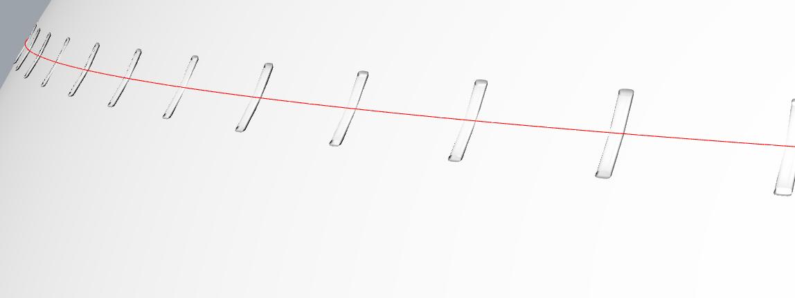 犀牛做车缝线