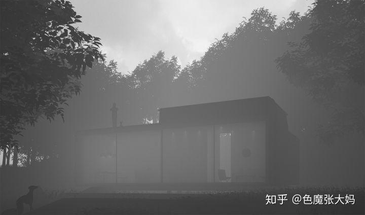 keyshot8制作雾气环境