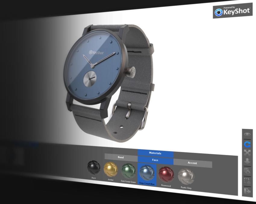 KeyShot Viewer节省渲染时间的5种方法